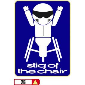 Sticker Haus Stig Of The Chair sticker no 26