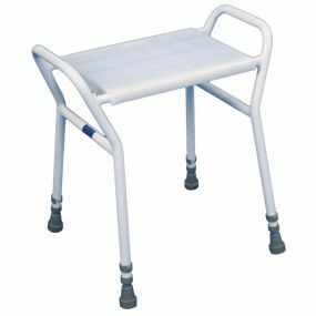 Shower Stool with Anti-Scratch Finish