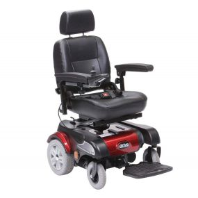 Sunfire Plus GT 318 Powerchair 350W Motor - Red