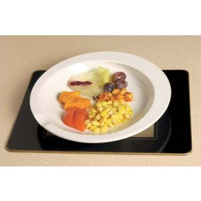 Scoop Plate - White
