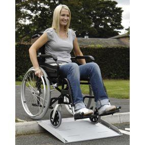 Aluminium Scooter / Wheelchair & Powerchair Access Ramp - 45cm (18