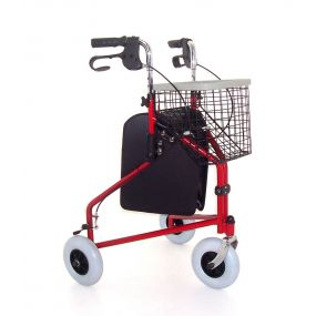 Standard Steel Tri-Walker - Red