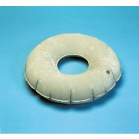 Suede Effect Inflatable PVC Ring