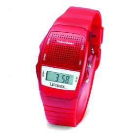 Talking Memo Wrist Watch - Red