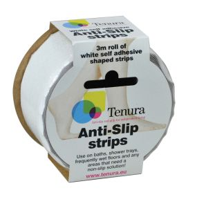 Tenura Anti-Slip Strips - White