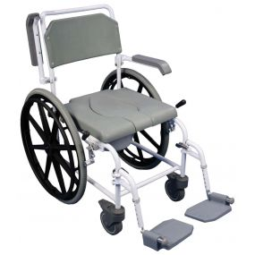 The Bewl Self-Propelled Shower Commode Chair