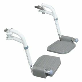 The Bewl Shower Chair - Swing Away Foot Plates