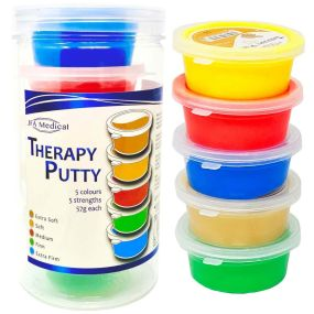 Therapy Putty - Set of 5 x 57g Tubs