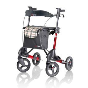 Topro Troja 2G Premium Rollator - Red - Small