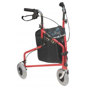 Tri Walker With Bag - Red