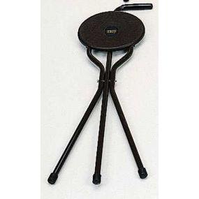 Trio Maxi Stick Seat  Deluxe - Brown (Stove Enamelled Frame)