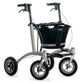 Trionic Walker Rollator - 9 Inch Wheels