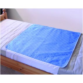 Washable Bed Pad - Blue