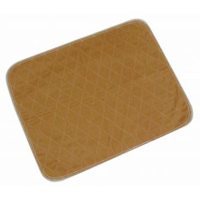 Washable Chair/Bed Pad - Light Brown