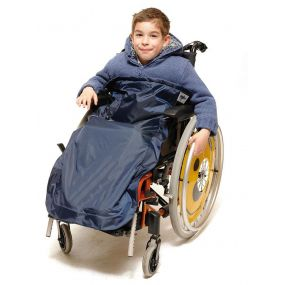 Childrens Navy Wheely Cosy Age 7-10