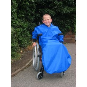 Wagtail Cover with sleeves - Royal Blue