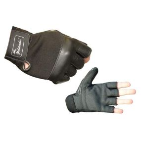 Globaleather Sure Grip Fingerless Wheelchair Gloves - XX Large