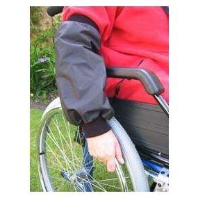 Wheelchair forearm covers