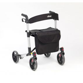 Mobility Smart X-Fold Rollator - Silver