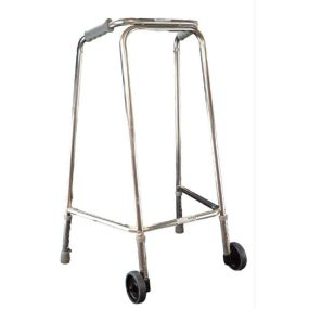 Mobility Smart Ultra Narrow Zimmer Frame - Small (With Wheels)