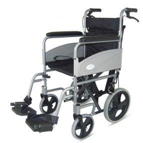 Economy Folding Aluminium Transit Wheelchair