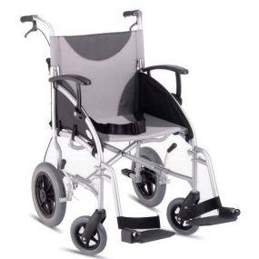 Lightweight Folding Aluminium Transit Wheelchair