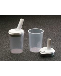 Click Cups & Lids With 4mm Spout (Pair)