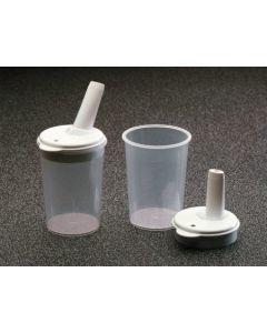 Click Cups & Lids With 4mm Spout (Pair)