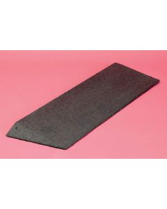 Bevelled Rubber Threshold Ramp - 38mm (1.5