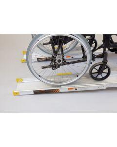 Economy Telescopic Wheelchair Channel Ramps - 2.4m