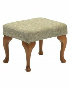The Queen Anne High Seat Chair - Foot Rest (Sage)