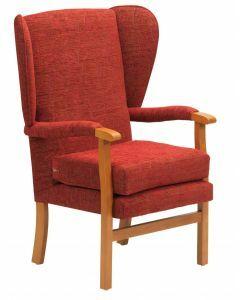 Jubilee High Seat Chair - Crimson