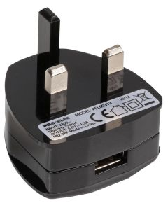 Mains USB Charger 5V 2.1A