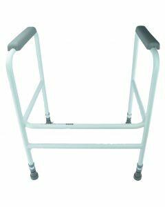 Adjustable Height Toilet Surround - Free Standing