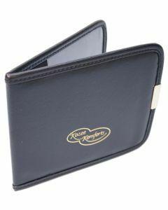 Faux Leather Blue Badge & Timer Wallet - Black