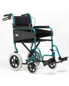 Escape Lite Lightweight Wheelchair - Racing Green - Narrow