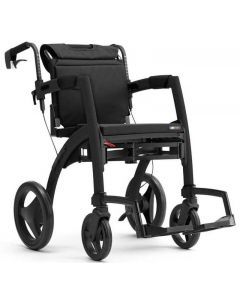 Rollz Motion 2-in-1 Rollator Transport Chair