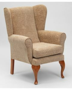 The Queen Anne High Seat Chair - Biscuit