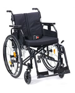 Super Deluxe 2 Alu Wheelchair - Black 16