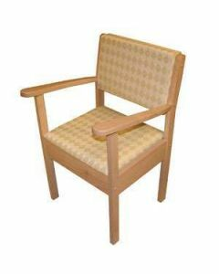 Upholstered Commode - Beech